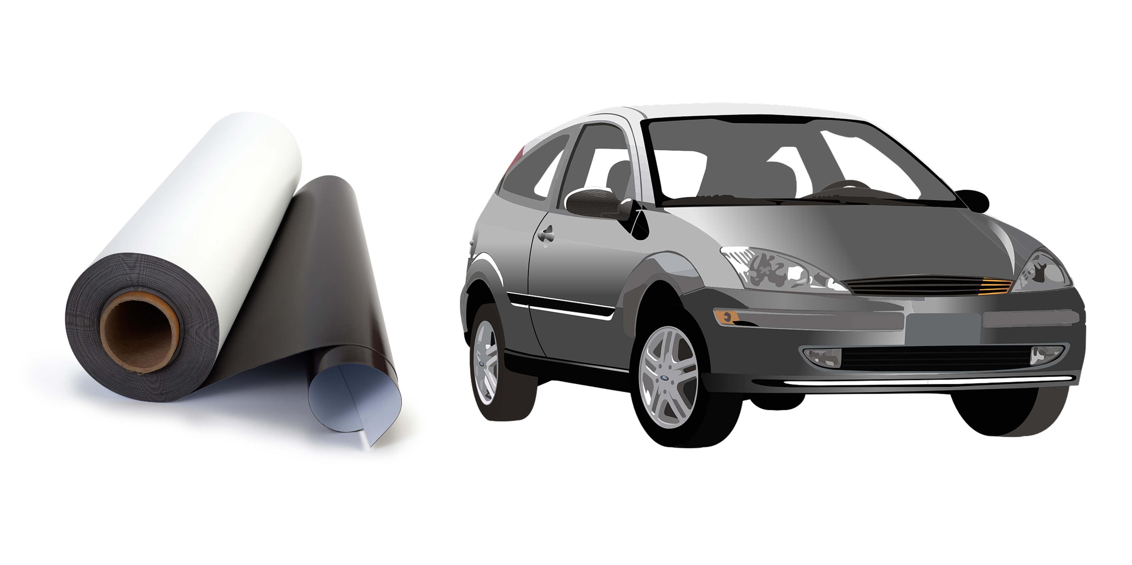 cintas magnéticas para coches