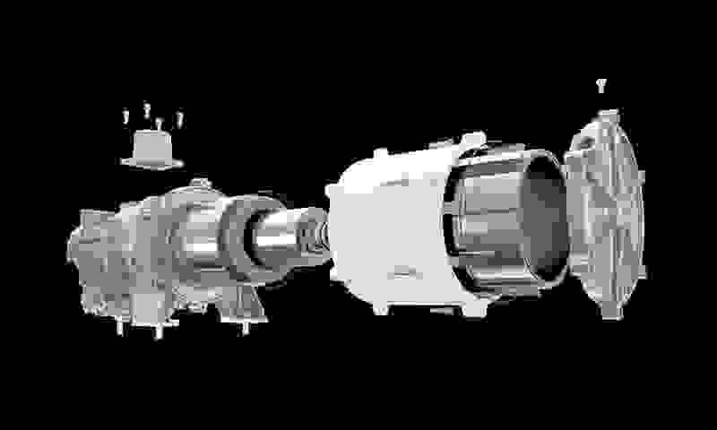motor hecho con imanes permanentes
